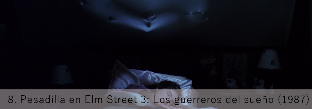 Pesadilla en Elm Street 3: Los guerreros del sueño, el slasher
