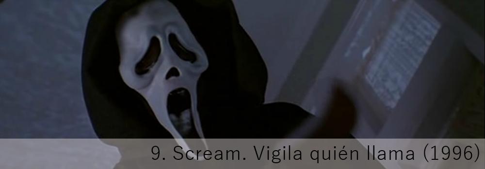 Scream. Vigila quién llama, el slasher