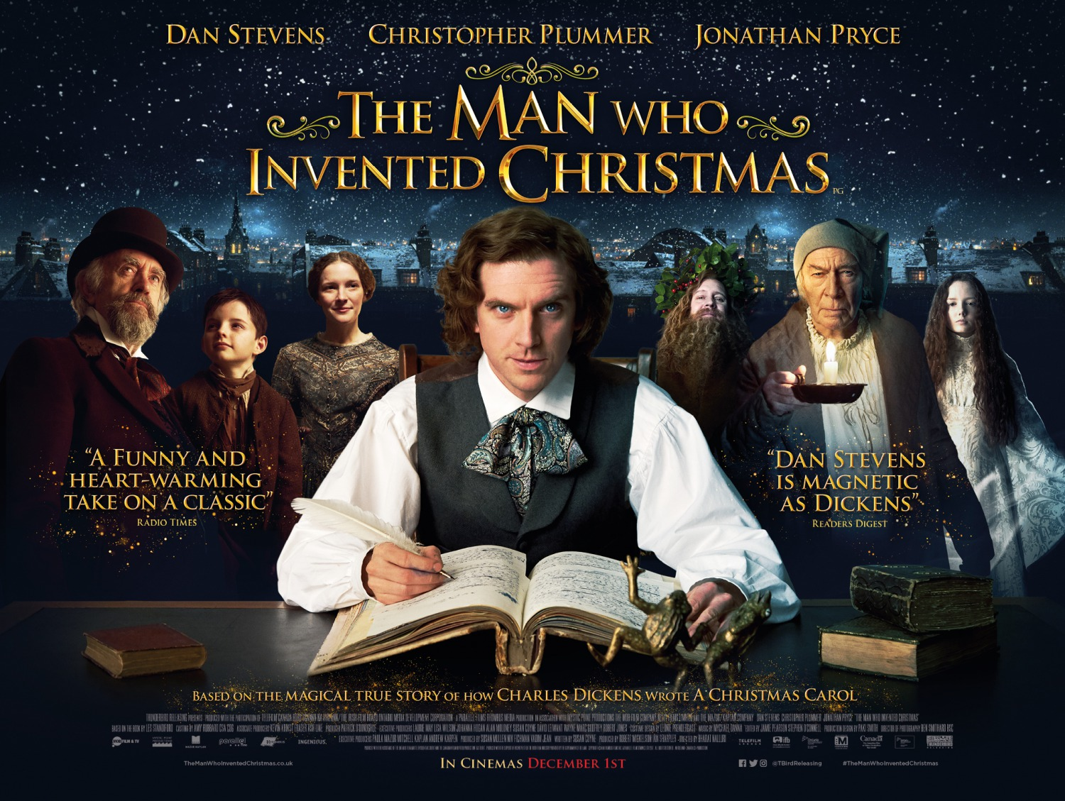 The Man Who Invented Christmas 2017
